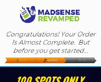 Madsense DFY Site & Campaigns - Express discount code