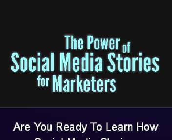 Power of Social Media Stories eBook With MRR discount code