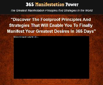 365 Manifestation Power eBook Personal Use Rights discount code