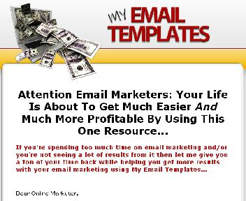 RR-My Email Templates With Resale Rights discount code