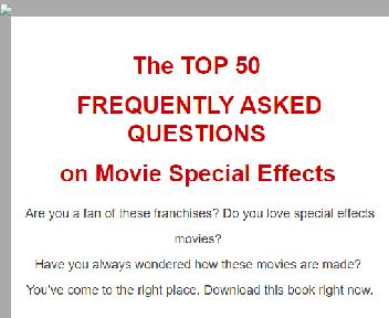 Movie Special Effects Coupon Codes