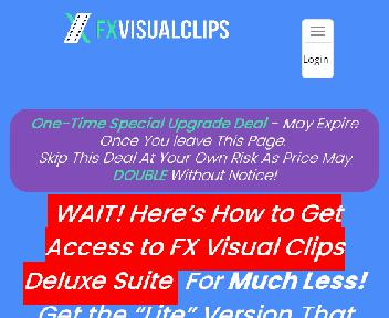 FX Visual Clips Deluxe Suite Coupon Codes