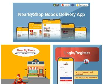 NearByShop-Grocery Delivery App with code and admin panel Coupon Codes