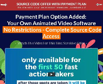 VidToon Source 6 Month Payment Plan Coupon Codes