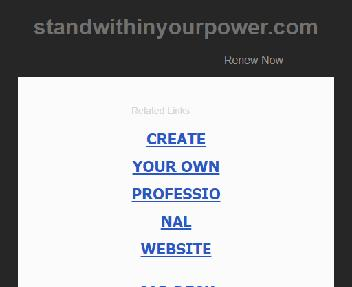 Stand Within Your Power Deep Introspective Coaching Experience Coupon Codes