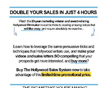 Hollywood Sales System Coupon Codes
