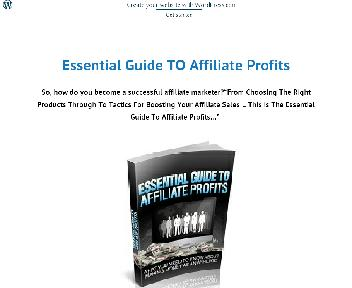 Essential Guide to affiliate profits Coupon Codes