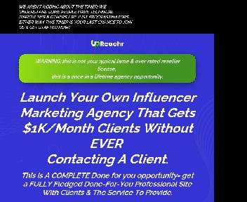 Upreachr Done-for-you Coupon Codes