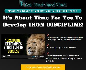 Your Disciplined Mind Coupon Codes