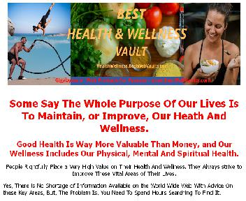 The HEALTH & WELLNESS VAULT Coupon Codes