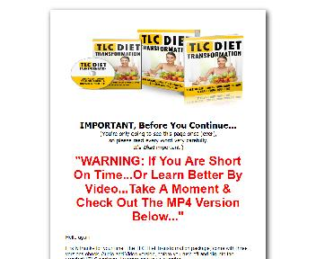 The TLC Diet Transformation Coupon Codes
