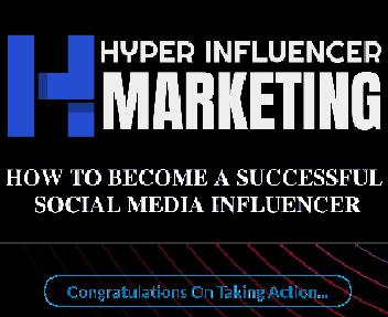 Hyper Influencer Marketing Video Upgrade Personal Rights License discount code