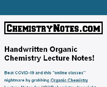 Full Course Organic Chemistry Lectures discount code