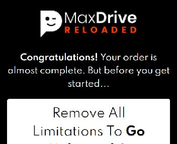 MaxDrive Reloaded Elite One-Time Deal discount code