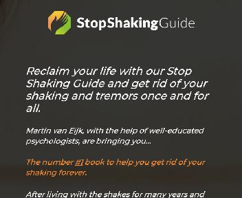 Stop Shaking Guide discount code