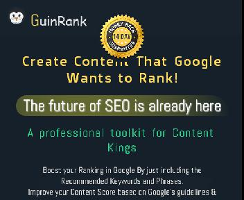 GuinRank- The Ultimate SEO Content Optimization Ai Tool discount code