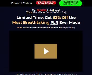 All-New Executive Collection PLR by Steven Alvey discount code