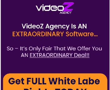 Videoz Agency White Label (Unlimited Accounts) discount code