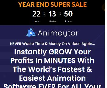 Animaytor Reloaded BUSINESS | The GREATEST Animation Video Maker discount code