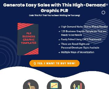 PLR Business Graphic Templates - Resell Right discount code