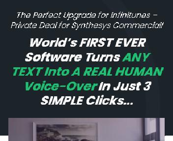 Infinitunes x Synthesys Special Offer discount code