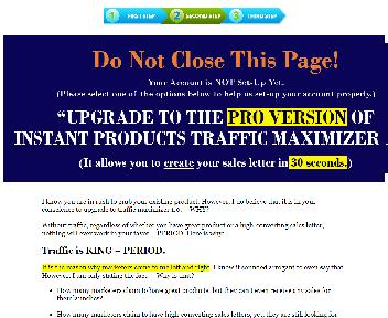 Instant Products Traffic Maximizer 1.0 - PU discount code