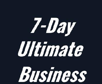 7-Day Ultimate  Business Makeover Program discount code