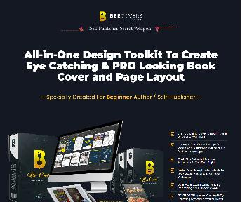 BEECOVER - All-in-One Toolkit for Book Author & Self Publisher discount code