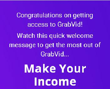 GrabVid Unlimited Monthly discount code