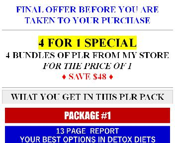 Giant Quality Low Carb, Detox Diets And Health PLR (Life Threat OTO 3) discount code