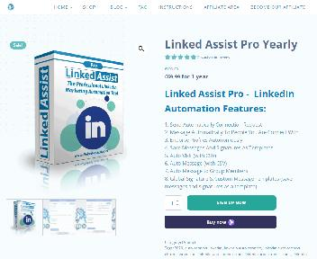 Linked Assist - LinkedIn Automation Tool discount code