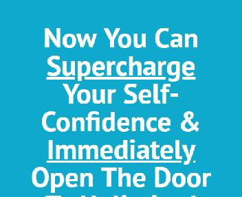 Self-Confidence Supercharger discount code