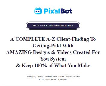 PixalBot Agency   Commercial, Developer, Outsourcer & Virtual Assistant License discount code
