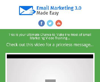 Email Marketing 3.0 upsell discount code
