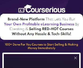 Courserious - Basic discount code