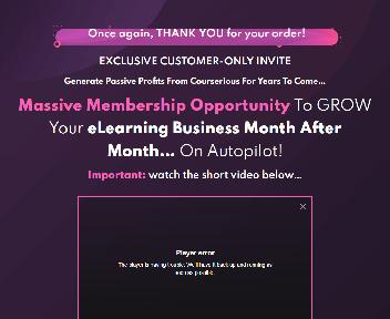 Courserious - Membership Option 1 discount code