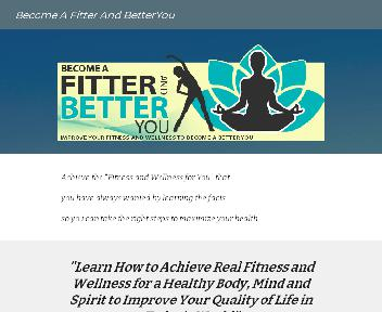Become a fitter and better you discount code