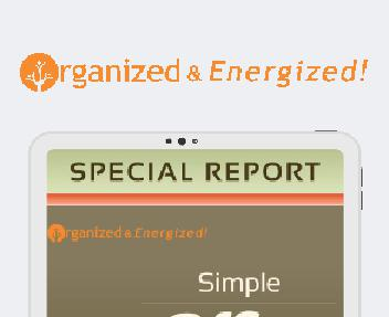 Simple Office Organizing Report discount code