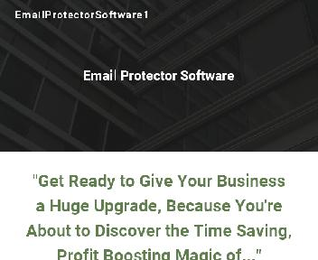 Email Protector Software discount code
