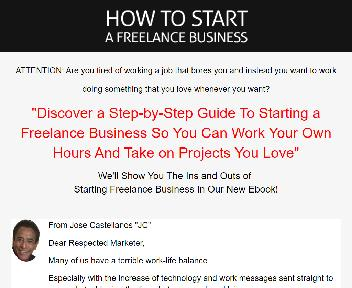 How To Start A Freelance Business Personal Rights License discount code