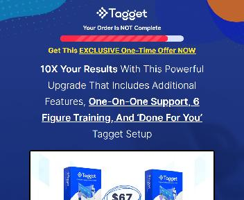 Tagget Deluxe Suite discount code