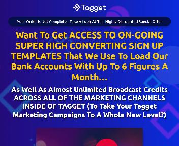 Tagget Done For You Club (One-Time Payment) discount code