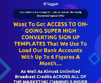 Tagget Done For You Club (Monthly Payment) discount code