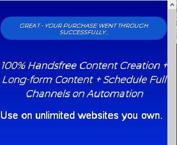 Content Gorilla 2.0 Unlimited yearly discount code