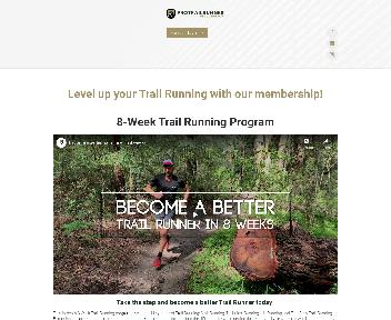 Pro Trail Runner Trail Running Membership - Access to 2 Programs discount code