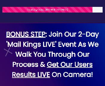 Mail Kings Live discount code
