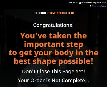 VIDEO UPGRADE - Ultimate Home Workout Plan discount code