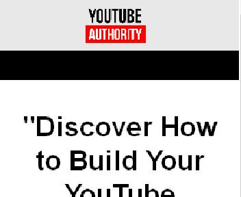 YOUTUBE AUTHORITY - How To Start and Grow a Successful YouTube Channel For Your Business or Brand discount code