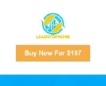 Leads To Phone discount code