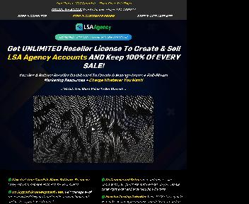 LSA Agency Reseller - Unlimited License discount code